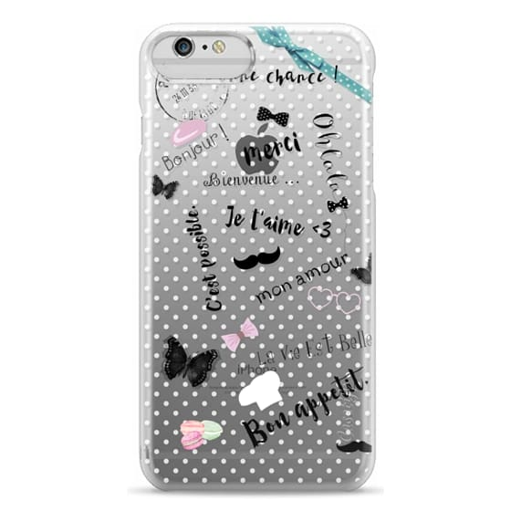 iPhone 6s Cases - FRENCH LOVE by Monika Strigel