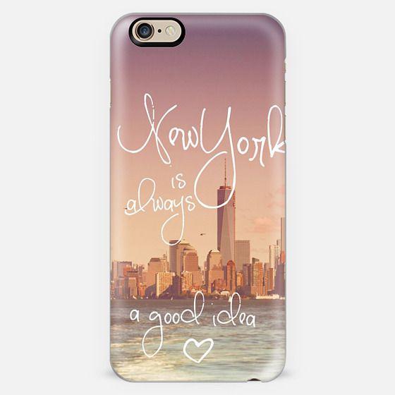 NEW YORK IS ALWAYS A GOOD IDEA by Monika Strigel -