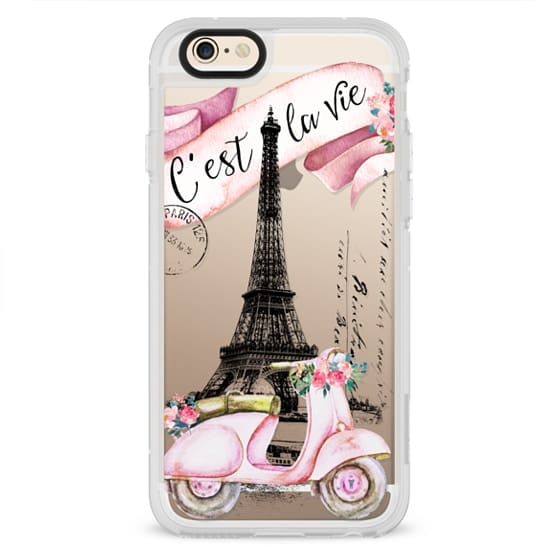 iPhone 6s Cases - TAKE A RIDE PINK by Monika Strigel