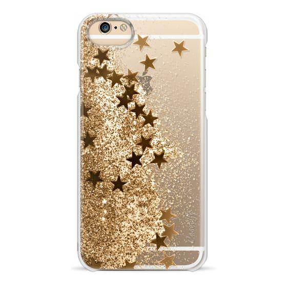 iPhone 6s Cases - SHAKY STARS 3 GOLD by Monika Strigel