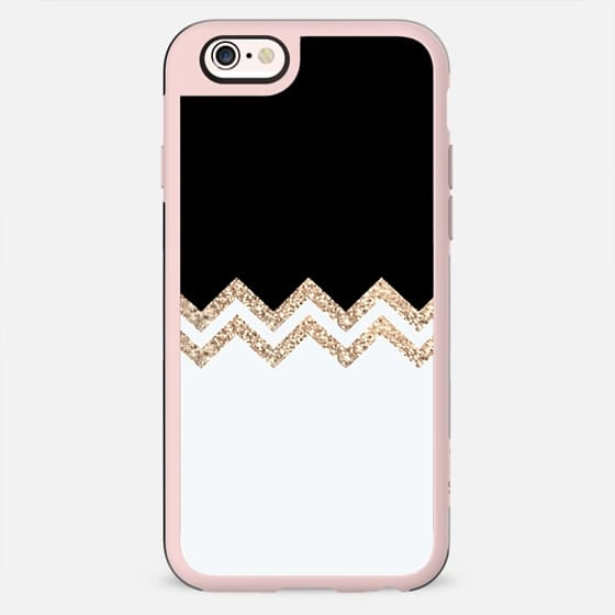 GOLD TWIN BLACK & WHITE iPhone6 - New Standard Case