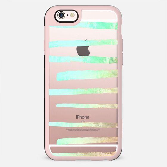 SURI SEAFOAM  transparent iPhone 6 by Monika Strigel -
