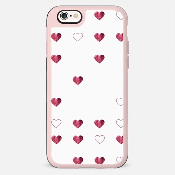 DEEP LOVE HEARTS by Monika Strigel iPhone 6 - New Standard Case