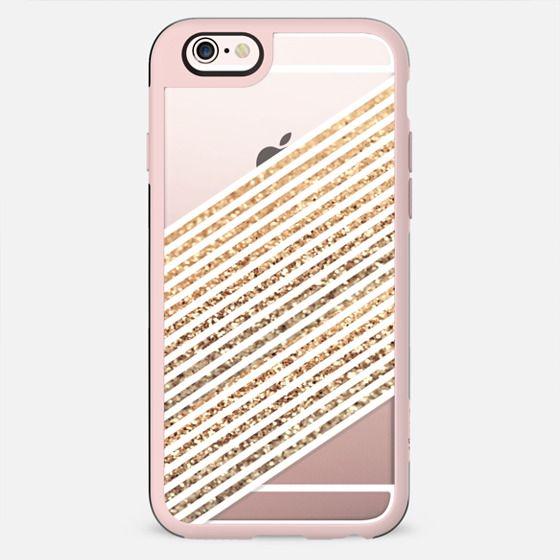 PISA GOLD METALUX by Monika Strigel Faux Glitter - New Standard Case