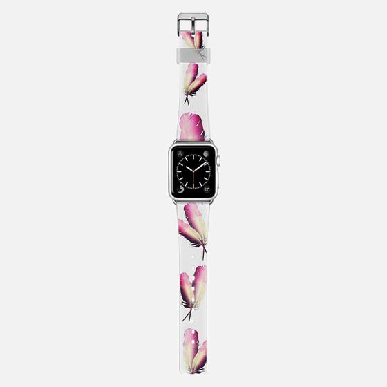 FEATHER DANCE PINK by Monika Strigel - Applewatch -