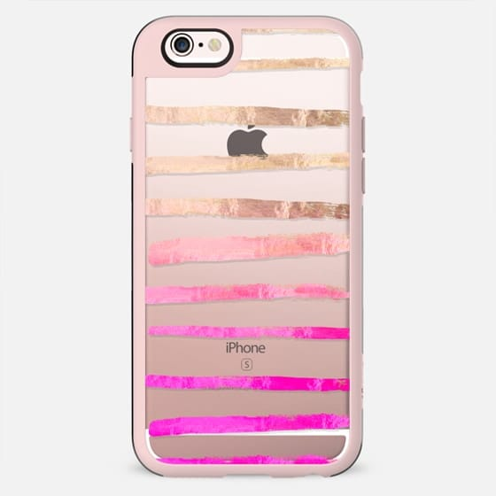 SURI PINKISH  transparent by Monika Strigel iPhone 5 -