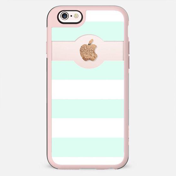 PRETTY MINT APPLE*ICOUS by Monika Strigel iPhone 6 - New Standard Case