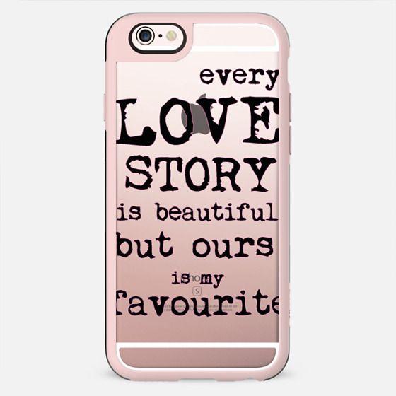 LOVE STORY METALUX by Monika Strigel - New Standard Case