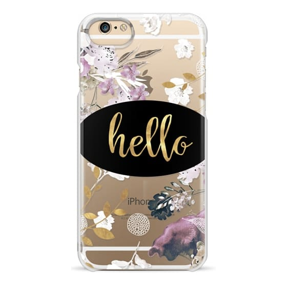 iPhone 6s Cases - HELLO ROSES by Monika Strigel