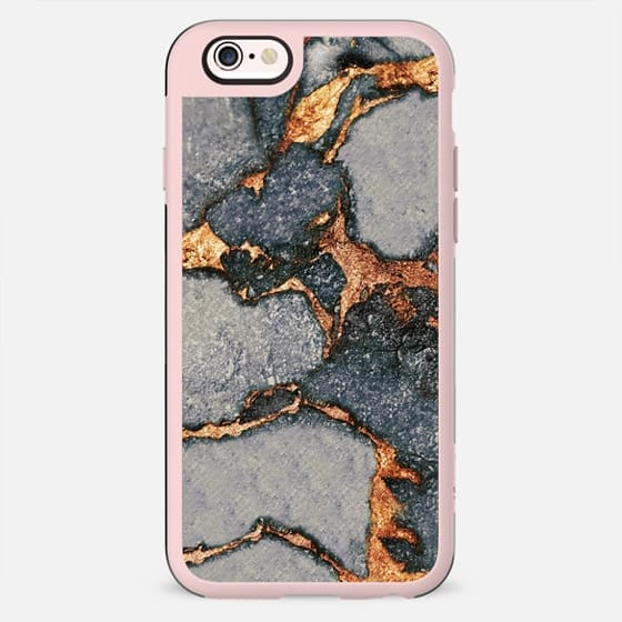 MARBLE GREY & GOLD BY MONIKA STRIGEL - New Standard Case