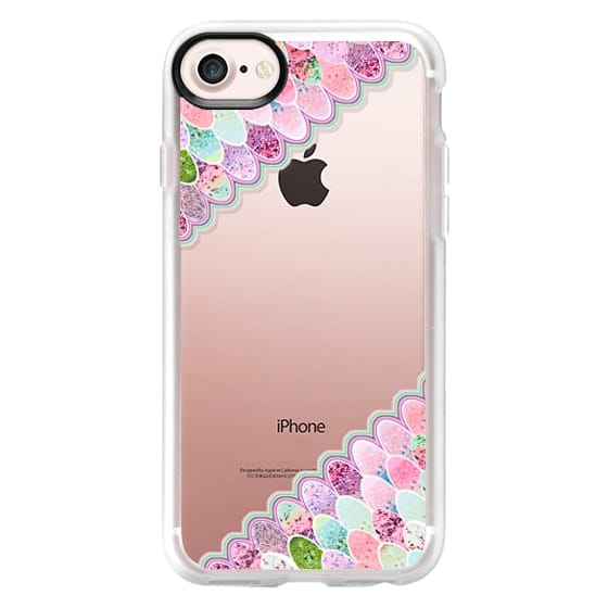 iPhone 6s Cases - MERMAID GLITTER RAINBOW by Monika Strigel