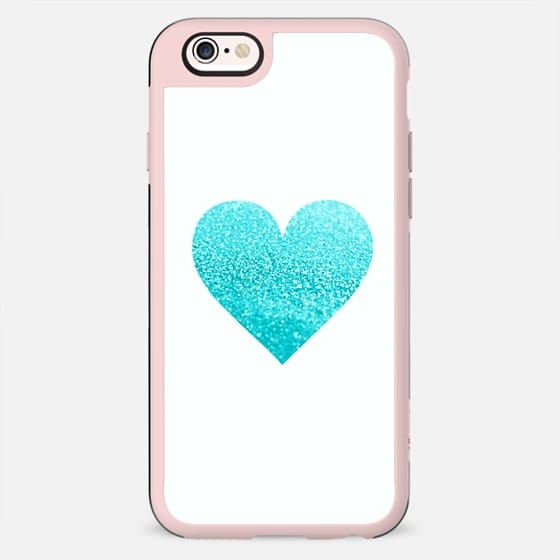 GATSBY AQUA HEART Hipster Black iphone case - New Standard Case
