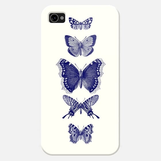 INKED BUTTERFLIES iphone 4/4s - New Standard Case