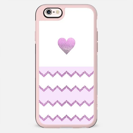 AVALON HEART PINK by Monika Strigel iPhone 6 - New Standard Case