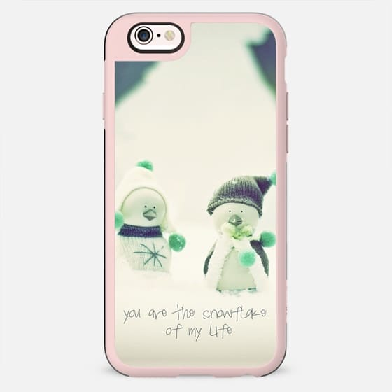 YOU ARE MY SNOWFLAKE by Monika Strigel - New Standard Case