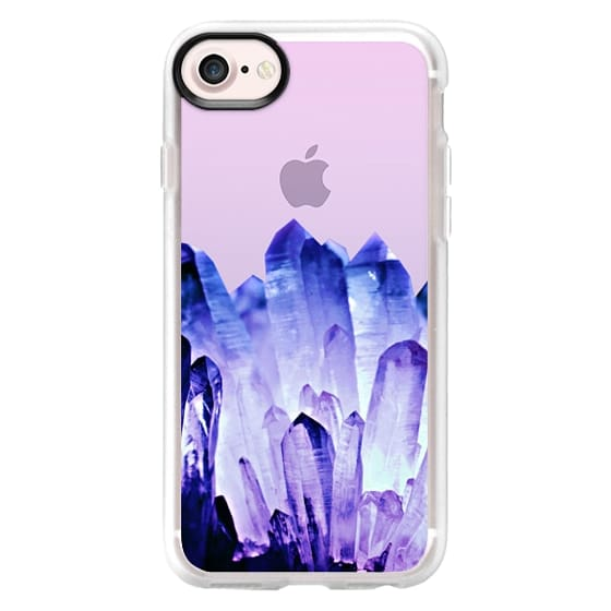iPhone 6s Cases - FADING CRYSTAL ROYAL BLUE by Monika Strigel