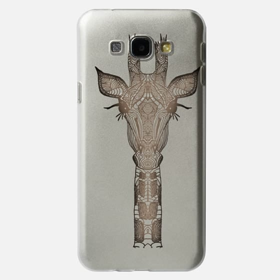 VINTAGE GIRAFFE for Samsung Galaxy S4 transparent case - Classic Snap Case