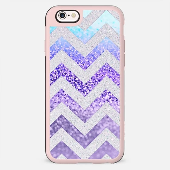 FUNKY MELON PURPLE GLITZ iPhone6 by Monika Strigel - New Standard Case