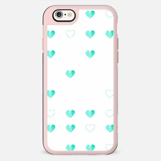 MINTY HEARTS by Monika Strigel iPhone 6 - New Standard Case