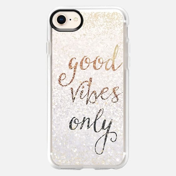 GOOD VIBES ONLY iPhone 5c by Monika Strigel - Snap Case