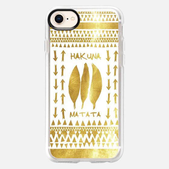 HAKUNA MATATA iPhone 5s by Monika Strigel - Snap Case