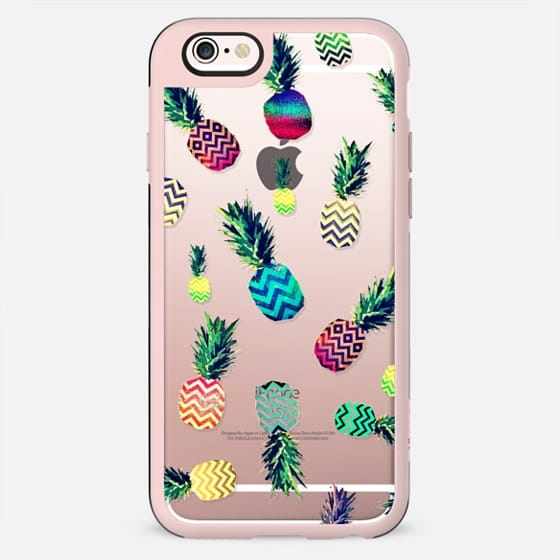 CRAZY ANANAS CRYSTAL CLEAR iPhone  -