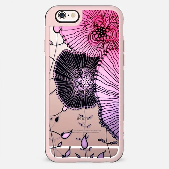 MYSTIC GARDDEN PINK by Monika Strigel - New Standard Case