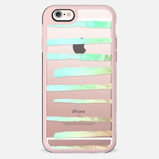 SURI SEAFOAM  transparent iPhone 6 by Monika Strigel