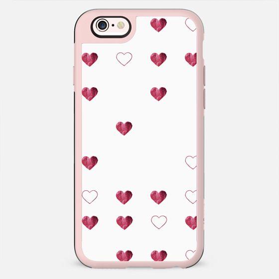 DEEP LOVE HEARTS by Monika Strigel iPhone 6 - New Standard Case