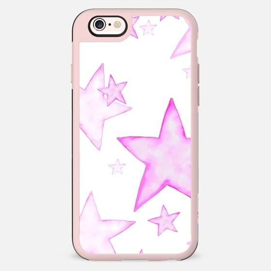PINK STARS iPhone 5 case - New Standard Case