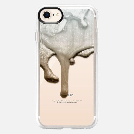 LIQUID SILVER & NUDE iPhone 6 plus by Monika Strigel - Snap Case