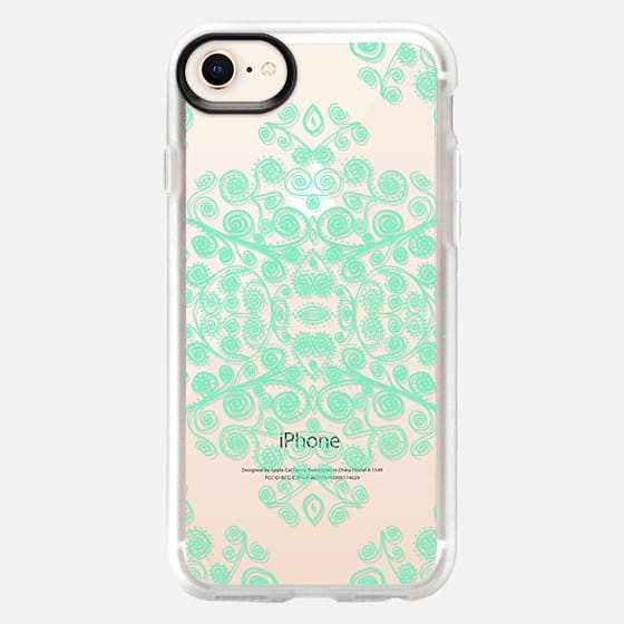 MINT AMBROSIA Crystal Clear iPhone Case  - Snap Case