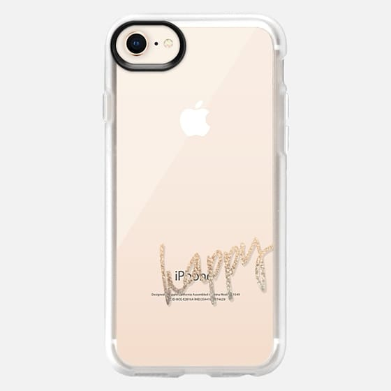 PRETTY HAPPY Transparent Case by Monika Strigel for iPhone 5 - Snap Case