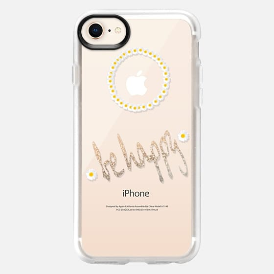 HOLLY`S BE HAPPY Transparent Case for iPhone 5 - Snap Case