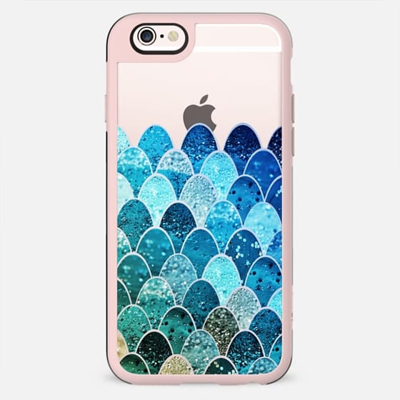 MERMAID SCALES on Wood by Monika Strigel - New Standard Case