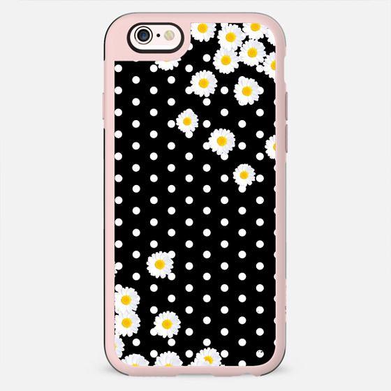 Daisy & Dots Black  -