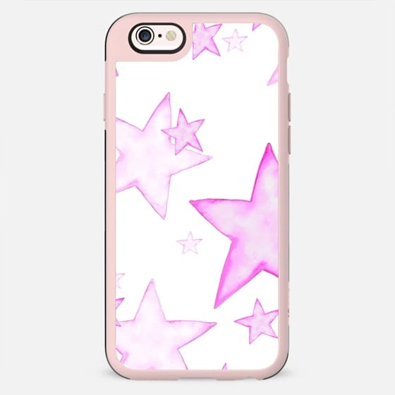 PINK STARS Galaxy S5 cover - New Standard Case