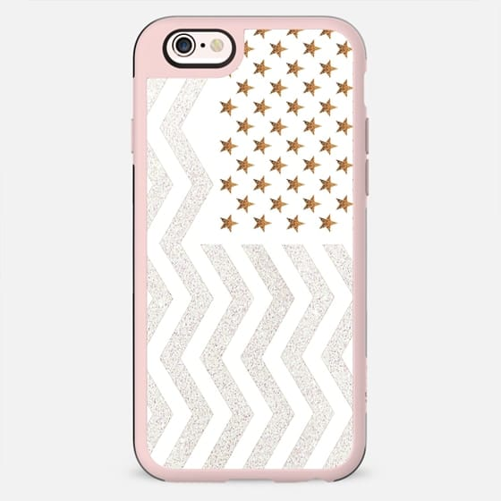 STARS & STRIPES METALUX by Monika STRIGEL - New Standard Case
