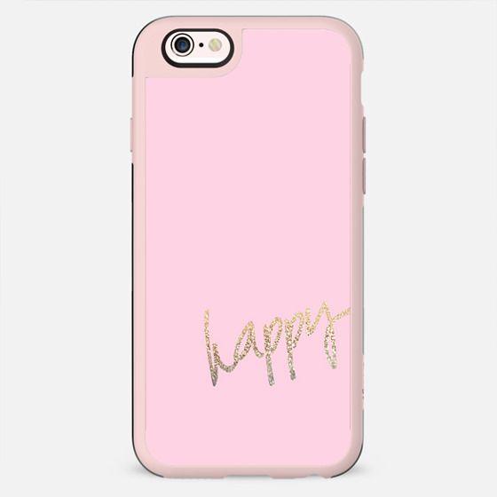 HAPPY GOLD PINK by Monika Strigel iPhone 6 - New Standard Case