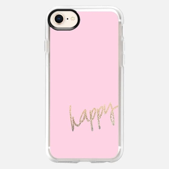 HAPPY GOLD PINK by Monika Strigel iPhone 6 - Snap Case
