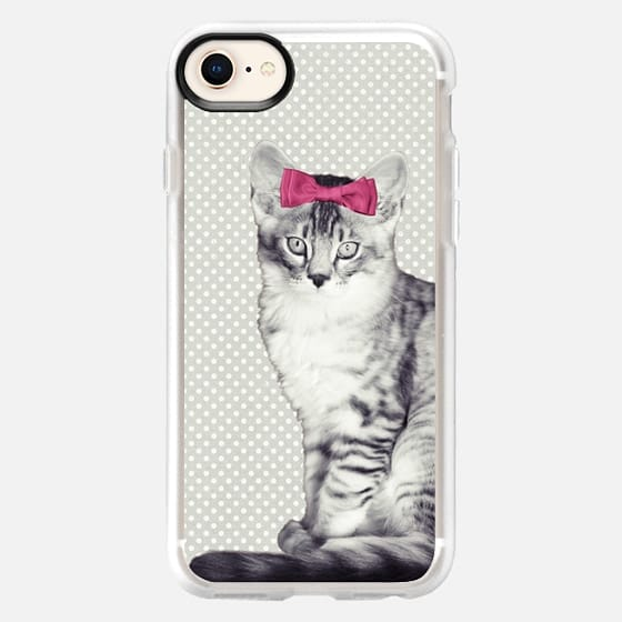 WINTER CAT by Monika Strigel - Snap Case