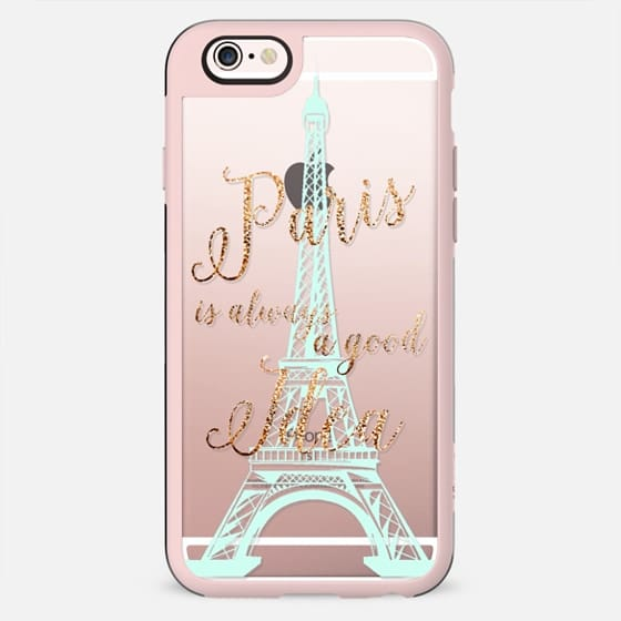 I LOVE PARIS TIFFANY MINT by MONIKA STRIGEL iPhone5