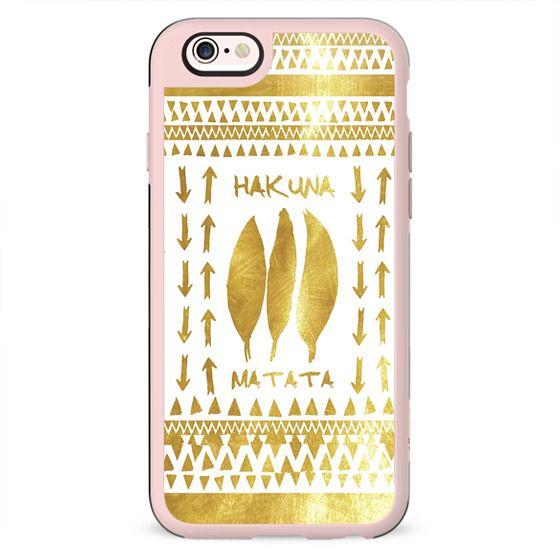 HAKUNA MATATA iPhone 5s by Monika Strigel