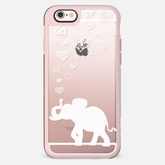 HAPPY ELEPHANTS HEARTS by Monika Strigel