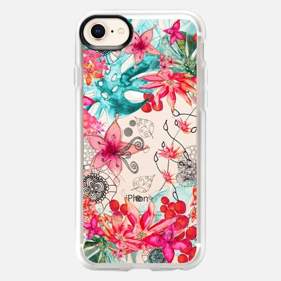 TROPICAL GARDEN Galaxy S5 transparent case - Snap Case