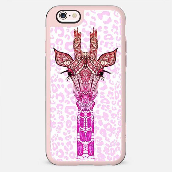 PINK GIRAFFE LEOPARD iPhone 5s