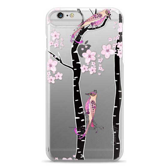 iPhone 6s Cases - LOVE BIRDS by Monika Strigel iPhone 6 PLUS