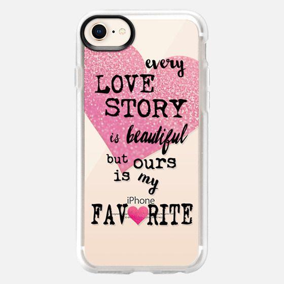 LOVE STORY METALUX by Monika Strigel - Snap Case