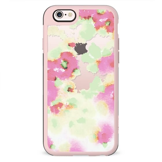 THIS IS SPRING II Transparent Case by Monika Strigel
