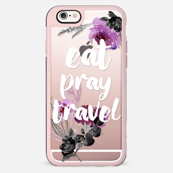EAT PRAY TRAVEL by Monika Strigel - New Standard Case